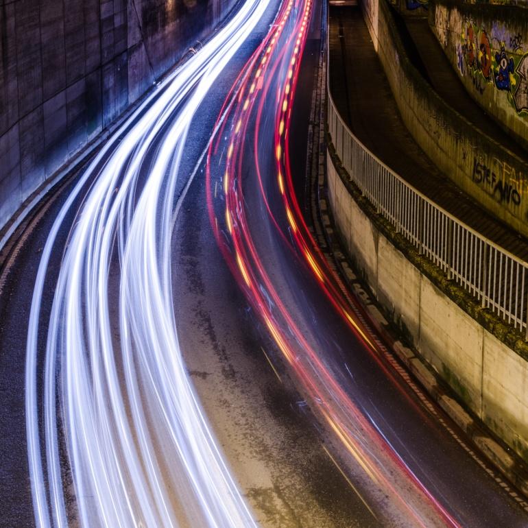 Streets of light