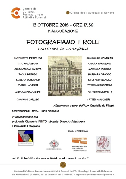 Fotografiamo i Rolli