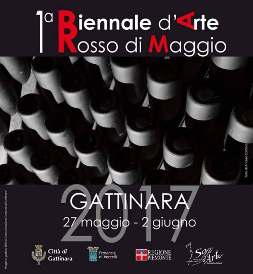 1a Biennale d'Arte Rosso di Maggio - Gattinara