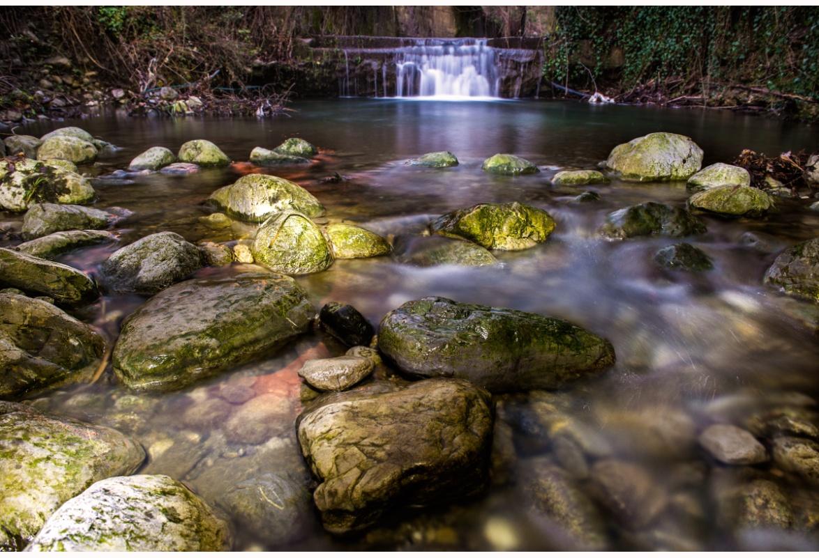 Fiume Mercure - Scorcio del fiume Mercure poco sotto la sua origine