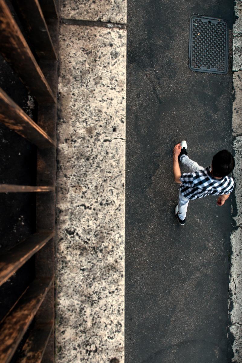 TRA LE RIGHE - camminando tra le righe di Roma