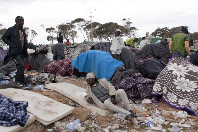 Choucha Camp